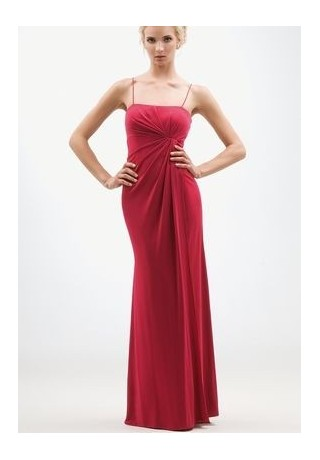 Red Bridemaids Dress