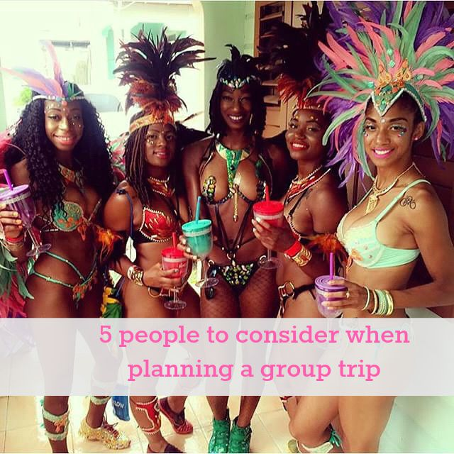 5 people to consider when planning a group trip