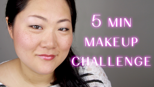 5 MINUTE MAKEUP CHALLENGE - ASIAN MONOLID EYES