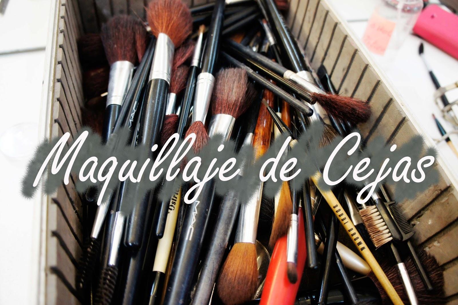 Maquillaje de cejas makeup eyebrown video clase tutorial lima escuela Sol Ríos