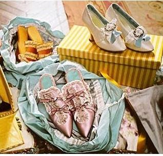 Los zapatos de Maria Antonieta