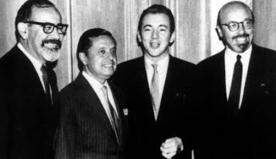 Atlantic Records: Jerry Wexler, Neshui Ertegun, Bobby Darin, and Ahmet Ertegun