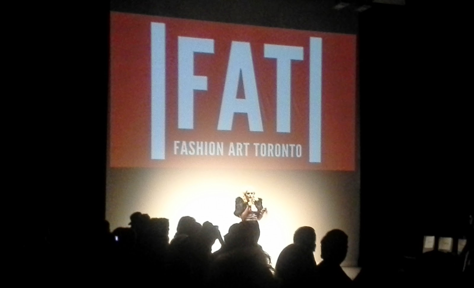 Fashion Art Toronto [FAT] Fashion Week 2014 Style Show Melanie.Ps Canadian Designers The Purple Scarf Runway Art