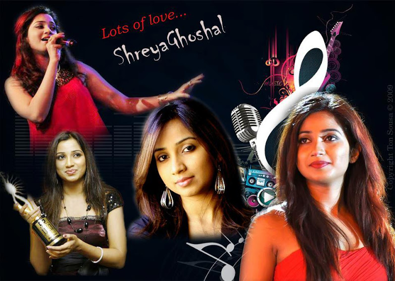 Shreya Ghoshal Telugu Hindi Tamil Mp3 Songs Collection Free Download