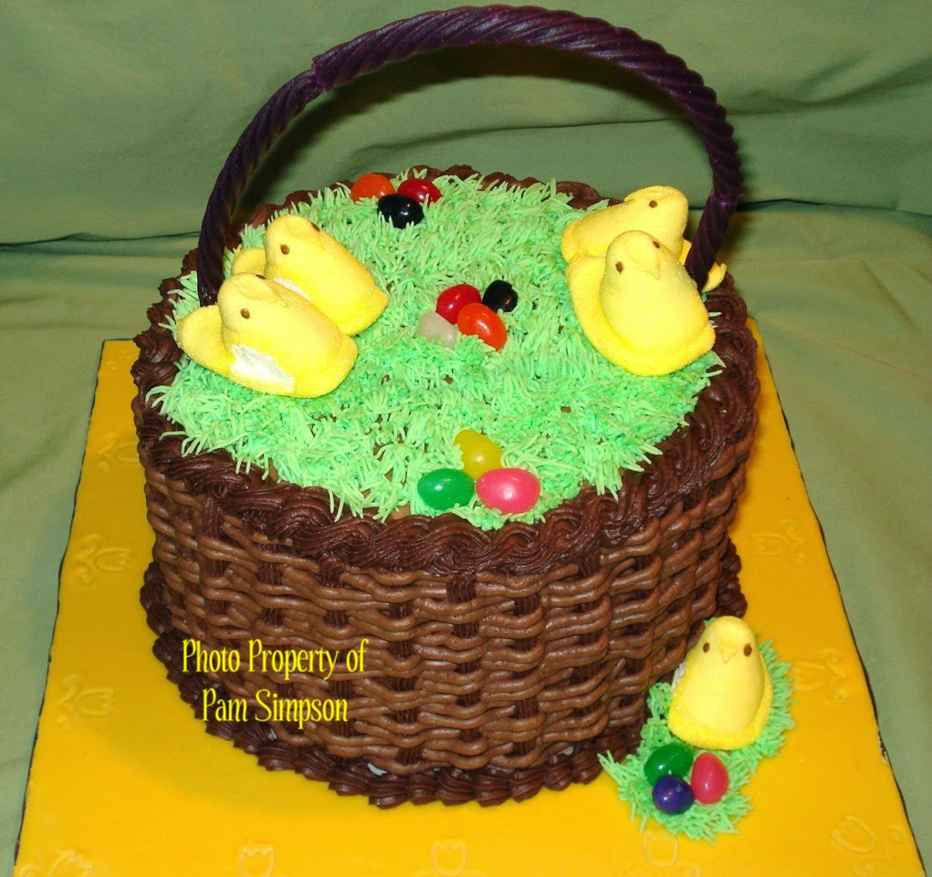 Easter Basket Cake Decorating Ideas : Simple Buttercream Borders Sweet P s Cake Decorating ...