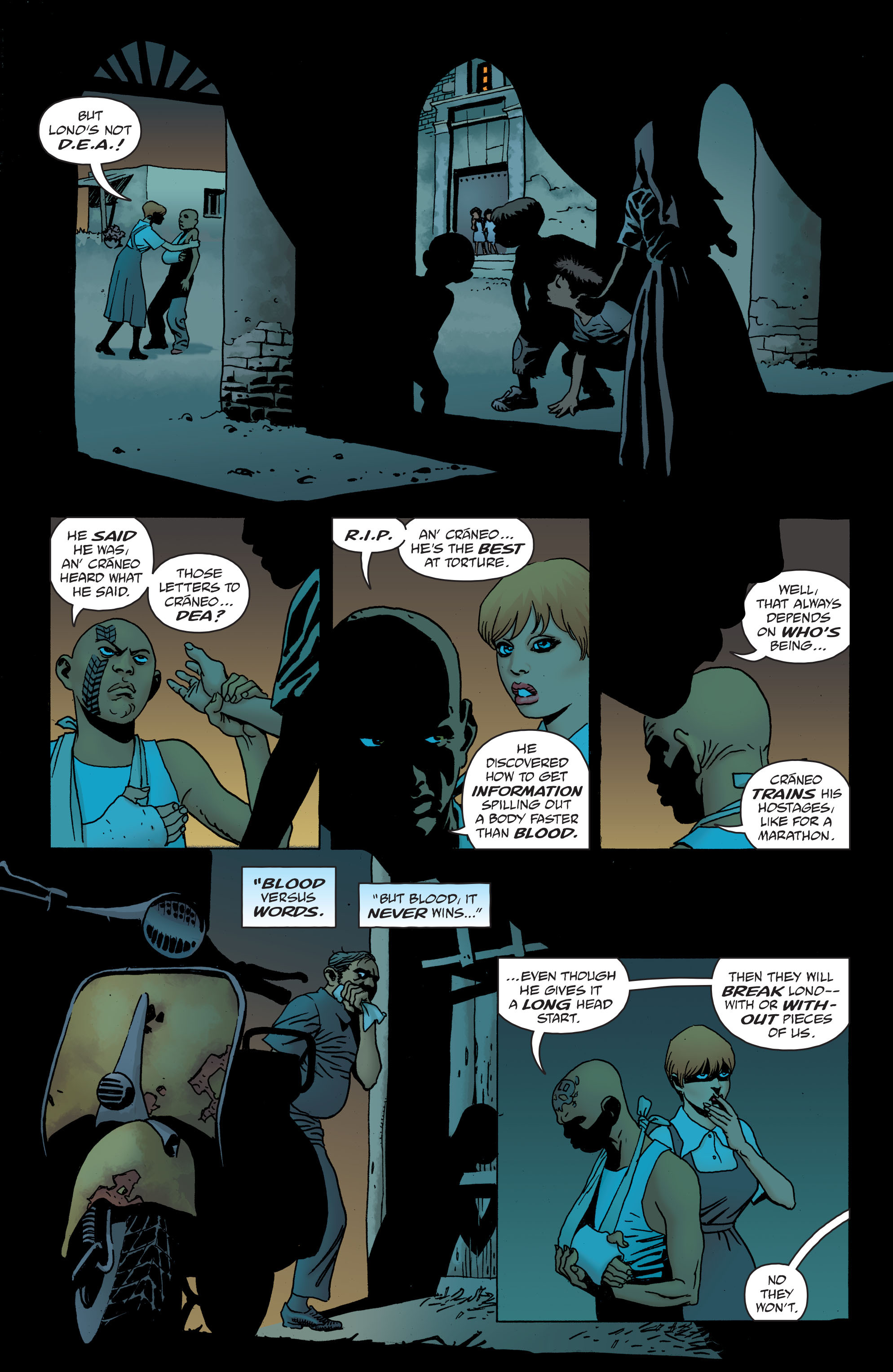 100 Bullets: Brother Lono Full Page 141