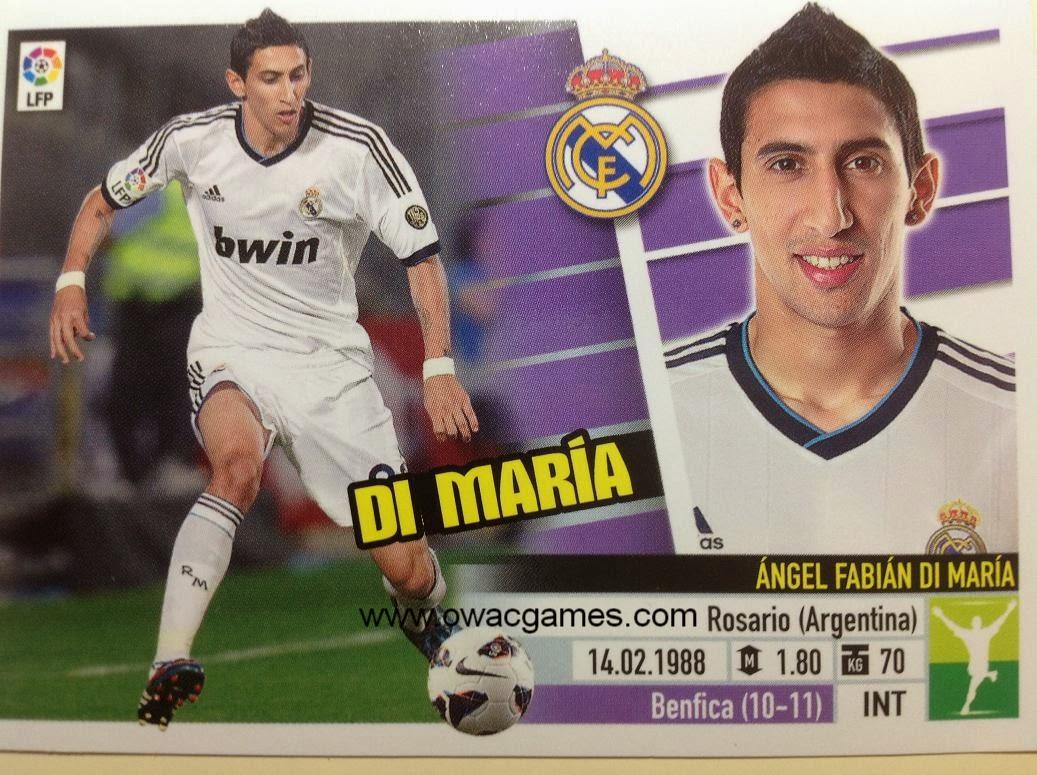 Liga ESTE 2013-14 Real Madid - 14A - Di María