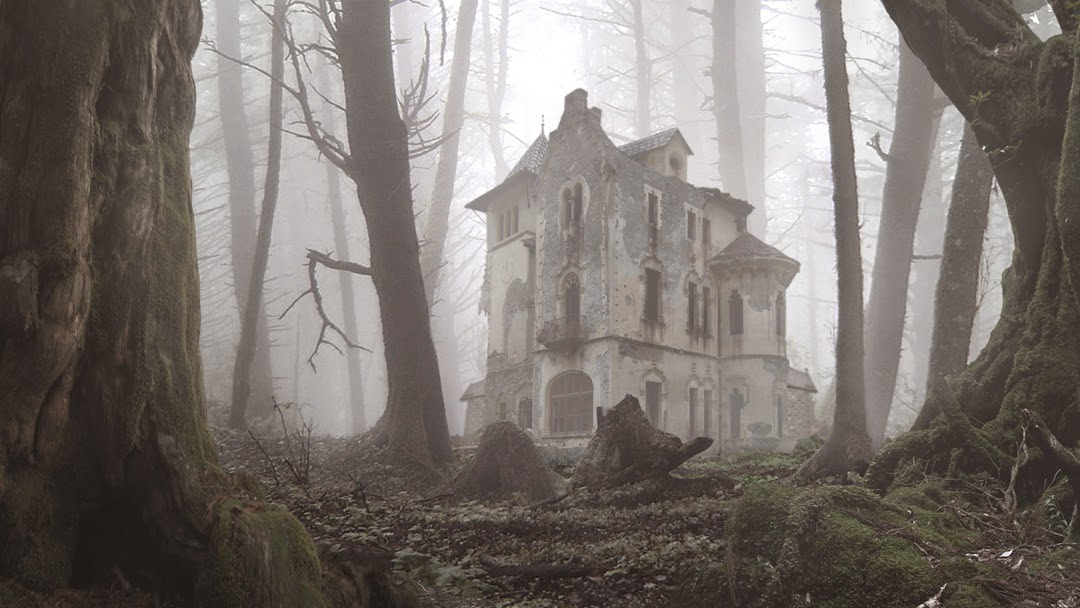 Haunted Houses for Rent...or just to visit