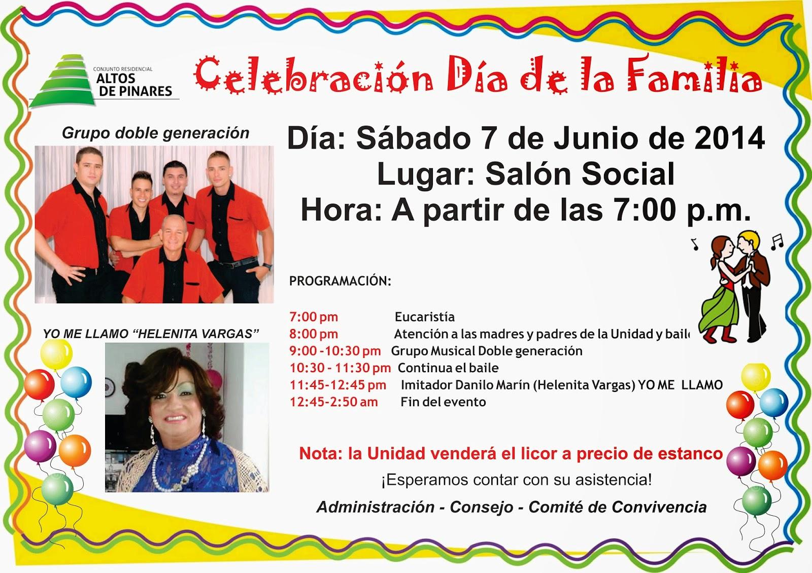 Noticias altos de pinares hoy s bado celebraci n d a de for Mural una familia chicana