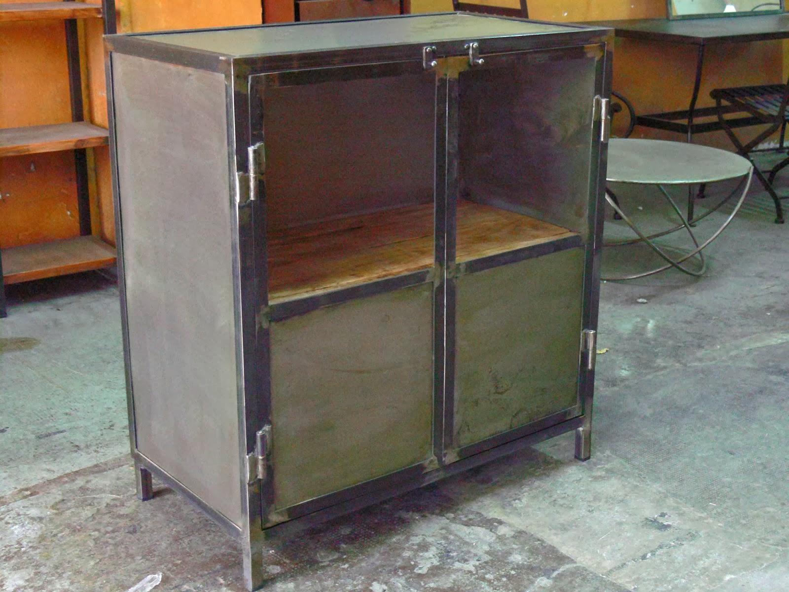 Muebles auxiliares estilo Industrial Vintage