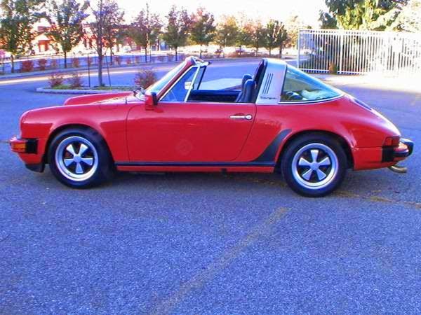 Buy Porsche 911 Red Targa 1978 - Buy Classic Volks