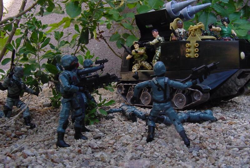 2004 Anti Venom Barricade, TRU Exclusive, 2002 Night Rhino, Stalker Desert Strike, 2005 Night Watch Trooper, Officer, 1988 Repeater