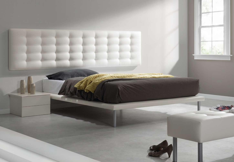 Dormitorios con cabeceros tapizados camas tapizadas for Cabeceros de cama tapizados