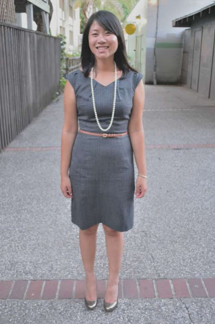 sacramento office fashion blogger angeline evans the new professional mossimo dress target kate spade pumps jcrew belt