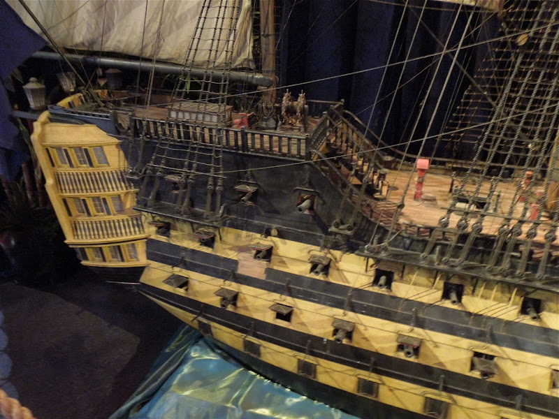 Pirates Caribbean HMS Endeavour filming model