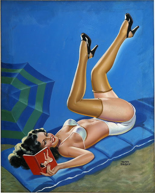 Classic Pin Up – Girls on the Beach. Part IV