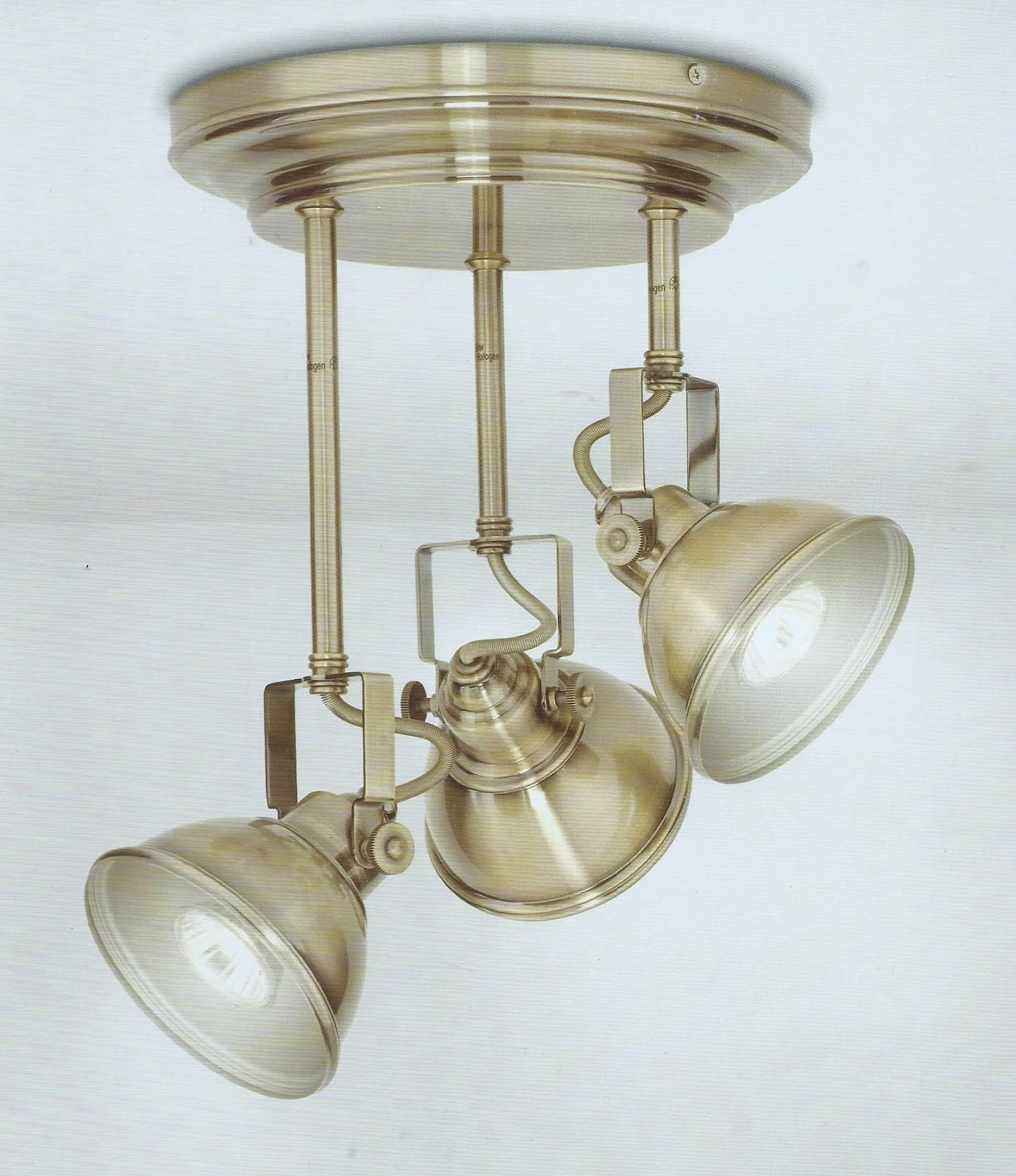 Nostalgiecat Kitchen Spotlight Update - Kitchen spot light fittings