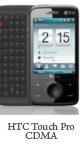 Spesifikasi HTC Touch Pro CDMA