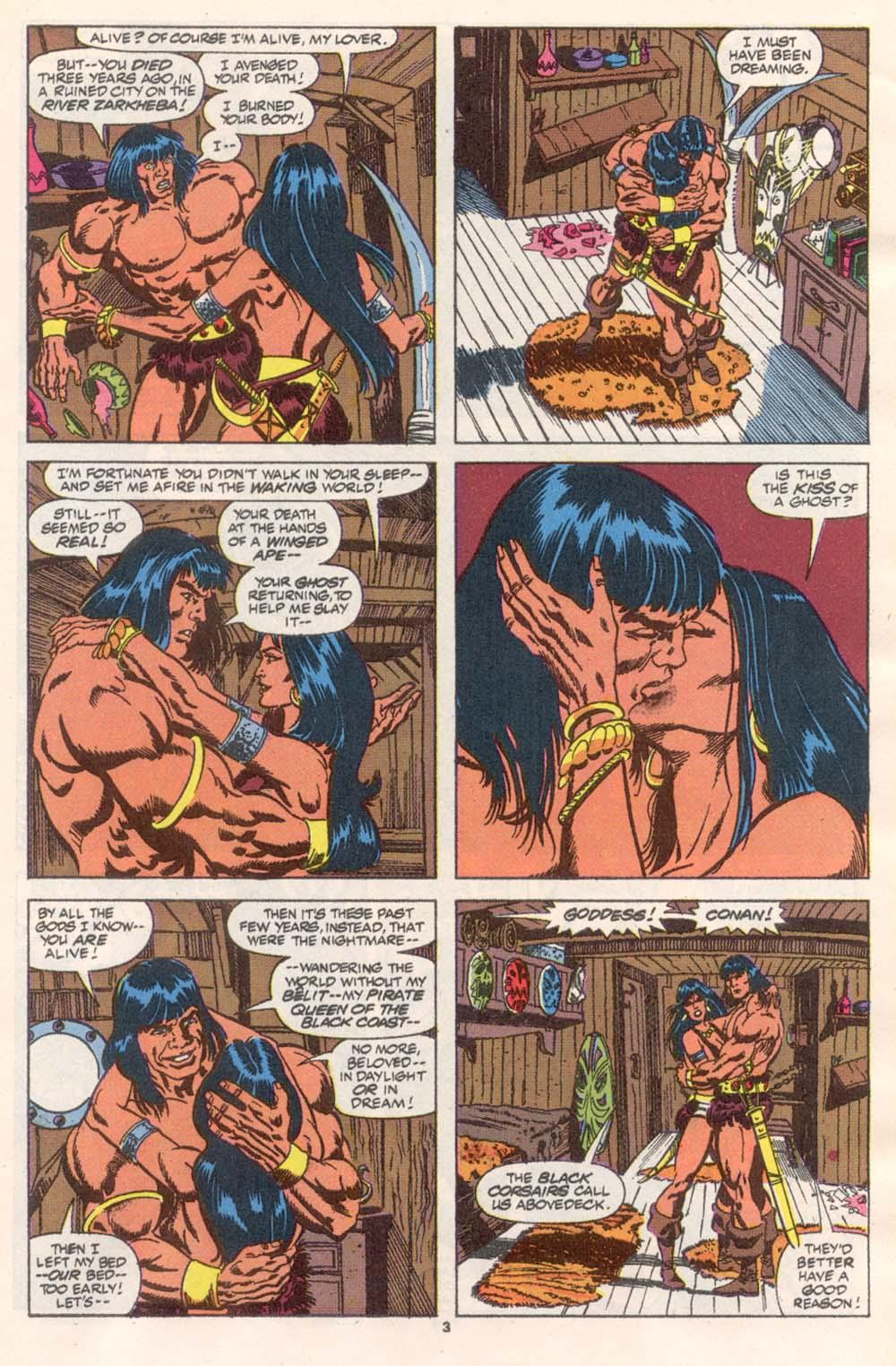 Conan the Barbarian (1970) Issue #243 #255 - English 4