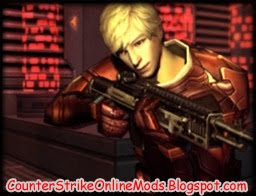 Download Metal Arena Rifleman Red from Counter Strike Online Character Skin for Counter Strike 1.6 and Condition Zero | Counter Strike Skin | Skin Counter Strike | Counter Strike Skins | Skins Counter Strike