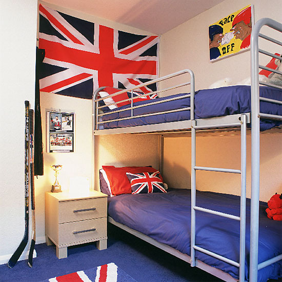 British Themed Boy S Bedroom: Mix And Chic: Modern Union Jack Children's Room Inspirations
