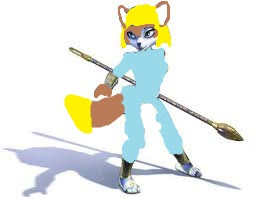 Ana the Galactik Fox