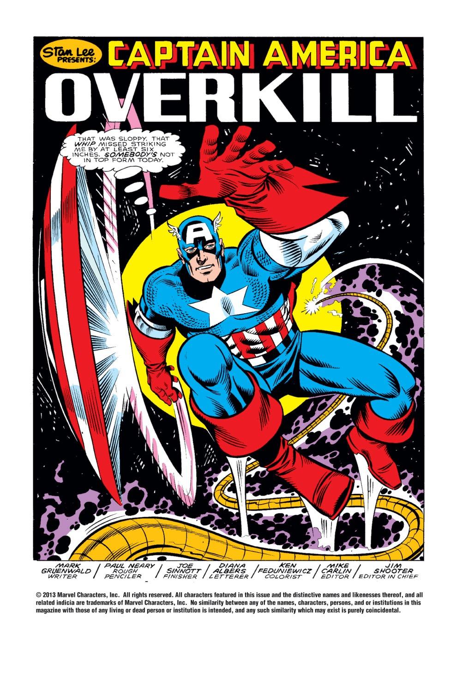 Captain America (1968) Issue #319 #247 - English 2