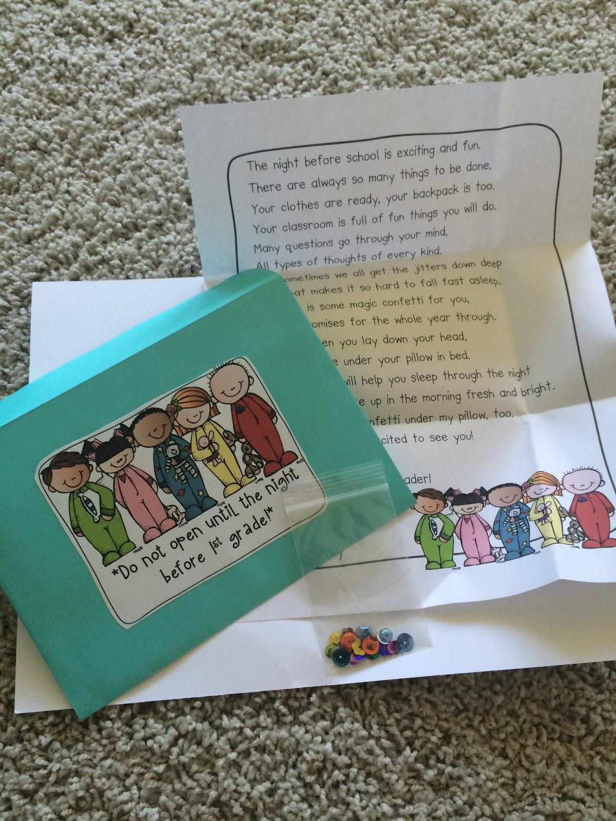 First Grader...at Last!: Meet the Teacher Tips, Ideas, & Freebies