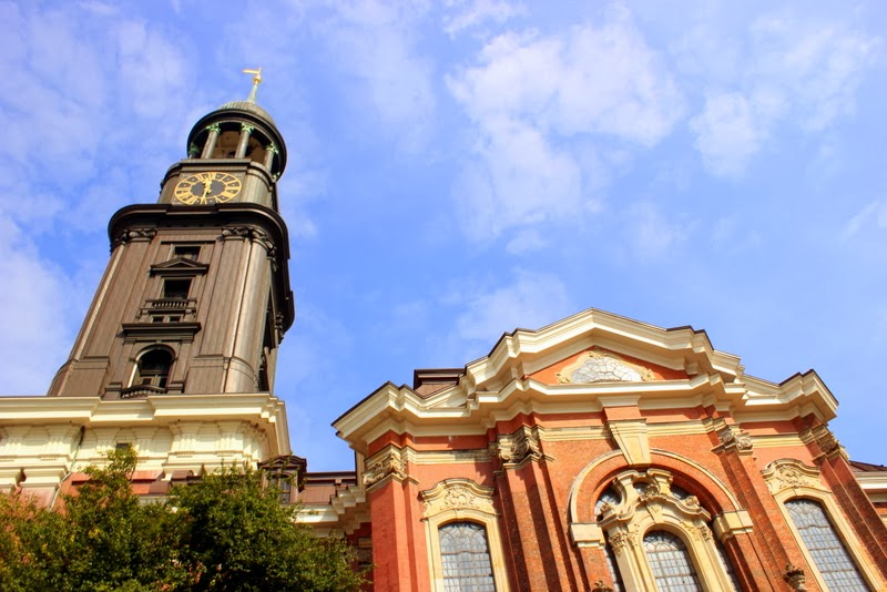 Lines Of Escape Hamburg St Michael S Church