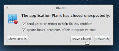 """Menonaktifkan popup """"System Program Problem Detected"""" Ubuntu"""