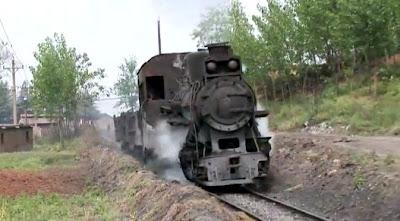 中国の蒸気機関車