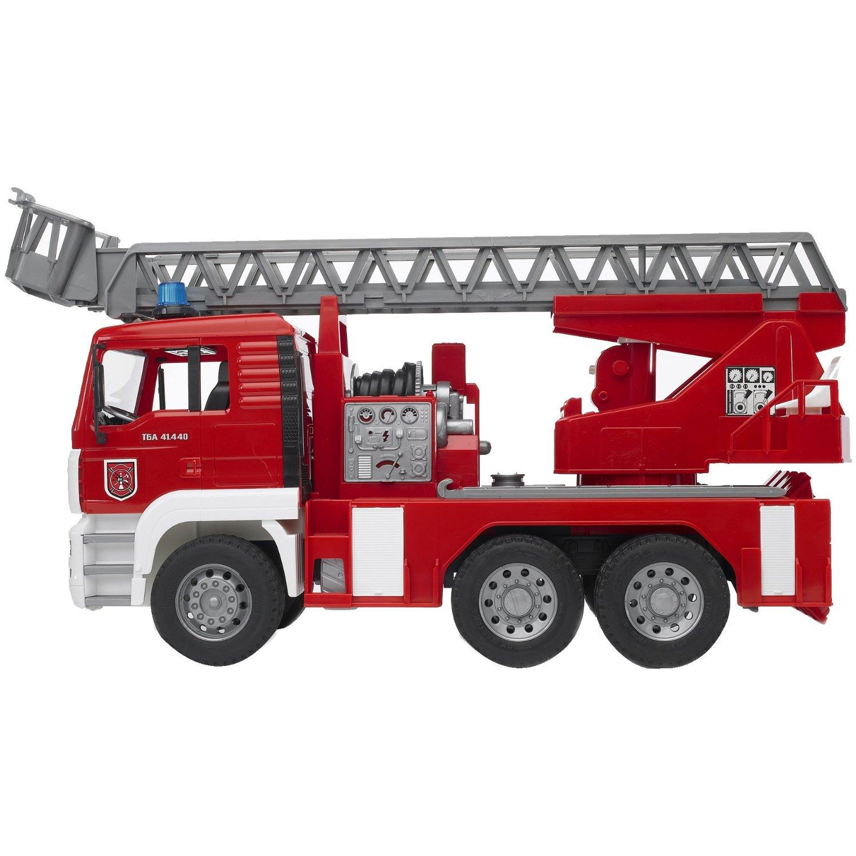 marie no lle olivier la maison du p re no l camion de pompiers bruder. Black Bedroom Furniture Sets. Home Design Ideas