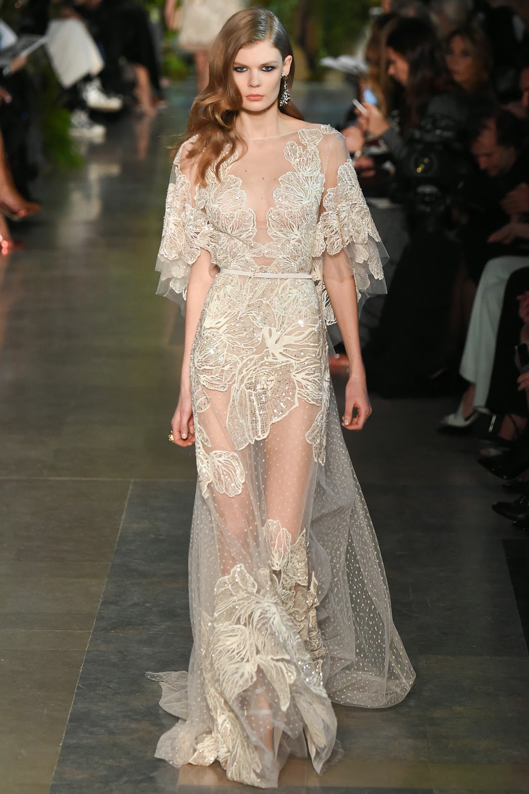 runway report paris couture fashion week elie saab