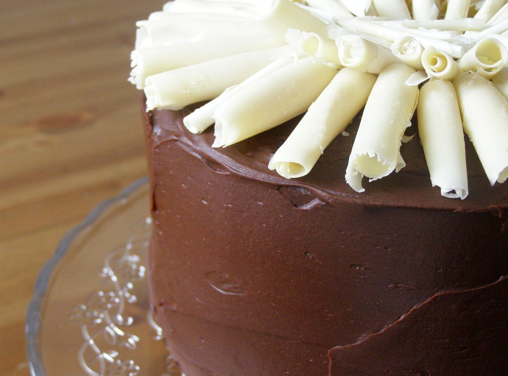 Maplespice Double Chocolate Mousse Layer Cake