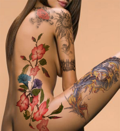 Hibiscus Tattoos