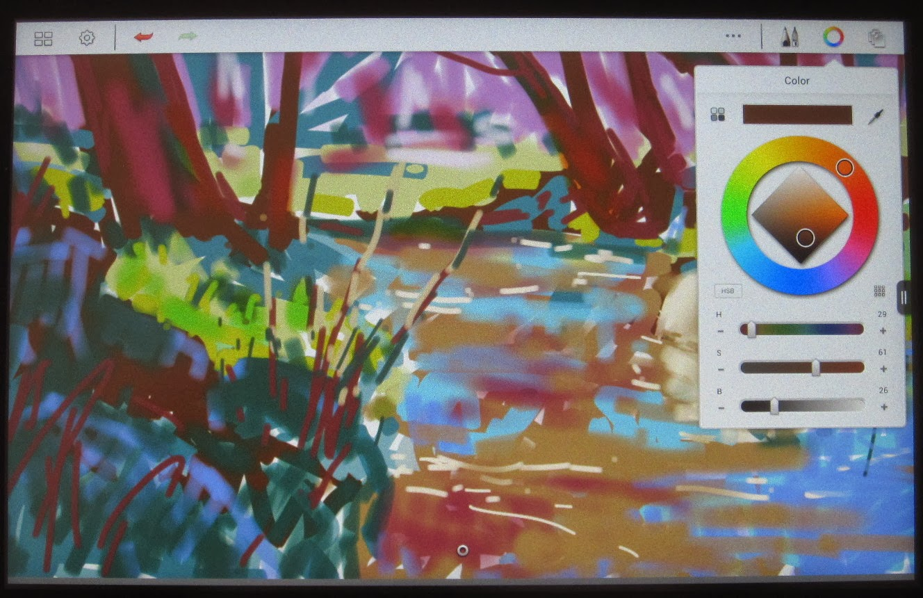 A plein air painter 39 s blog michael chesley johnson for Chroma mural paint markers