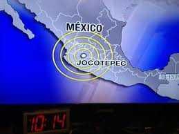 Sismo Temblor Terremoto Lima Mexico DF Santiago Epicentro 7 AGOSTO