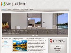SimpleClean - Free Wordpress Theme