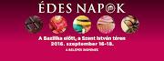 Édes Napok - Budapest, 2016. szeptember 16-18.