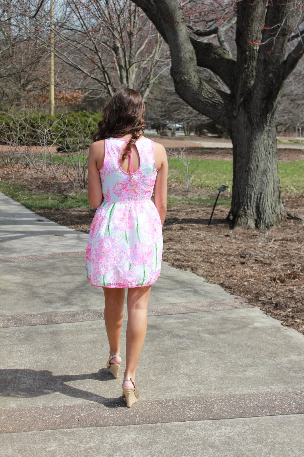 Lilly Pulitzer Darcelle Full Skirt Party Dress Anchors and Pearls