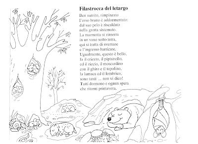 La maestra linda filastrocca del letargo - Immagini di colorare le pagine del libro da colorare ...