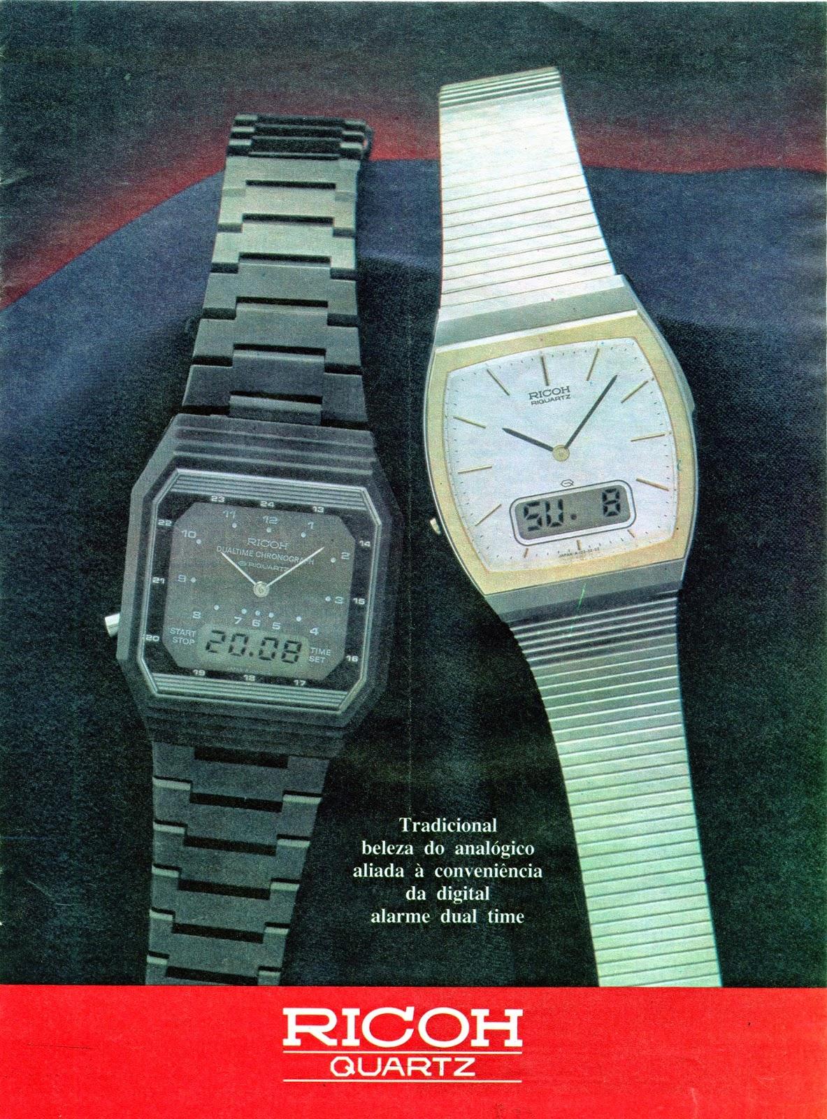847cea5114e Estação Cronográfica  Relógios Ricoh