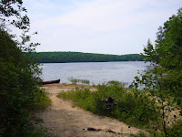 Kawartha Highlands Ontario Provincial Park Portage Sucker Lake