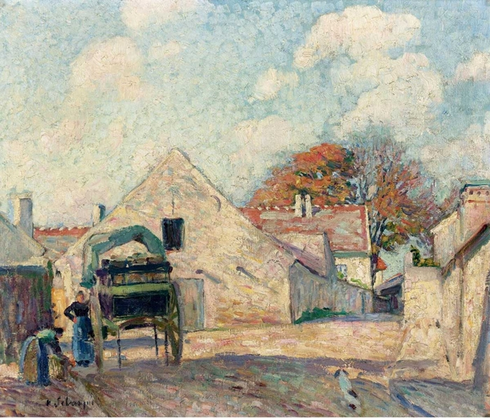 Henri Lebasque 1865–1937 | French Post-Impressionist painter | The paysages