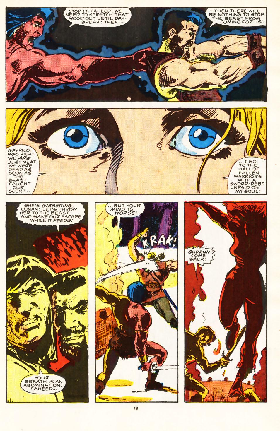 Conan the Barbarian (1970) Issue #224 #236 - English 16