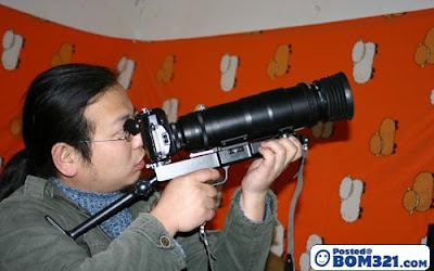 Kamera Bentuk Senjata