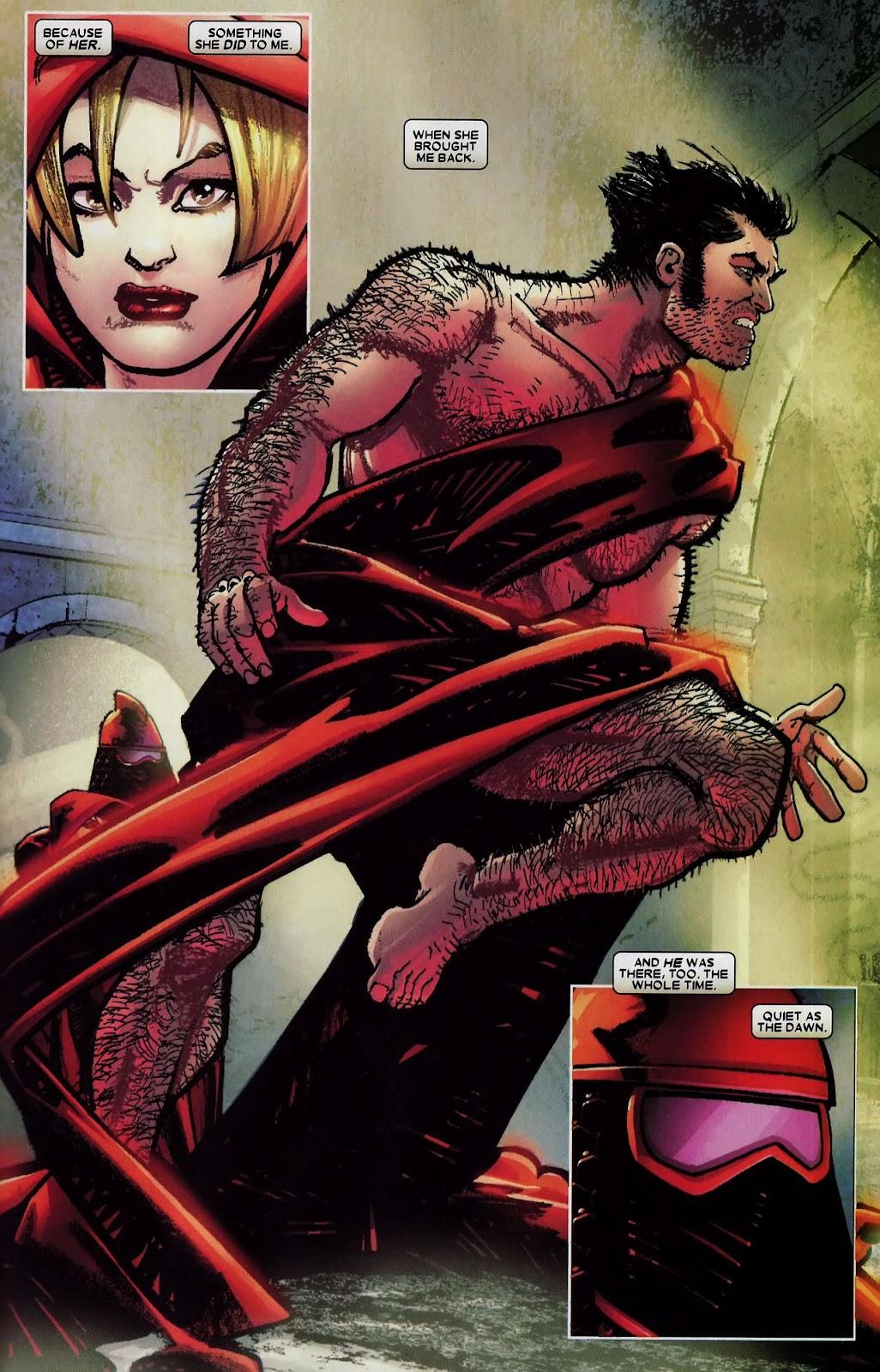 Read online Wolverine (2003) comic -  Issue #59 - 23