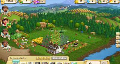 Tips cepat naik level permainan farm ville 2 facebook