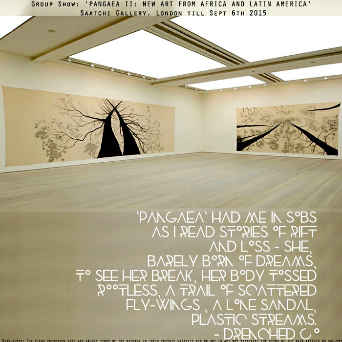Image of Saatchi Gallery with an exhibition review