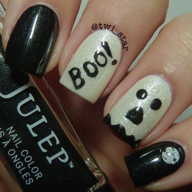 twi-star | Nail Art Blog: Julep Ledi and Casper Halloween Ghost Glow ...